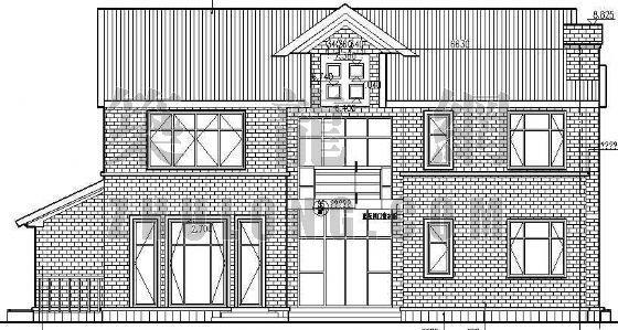 某别墅区设计方案(A)型