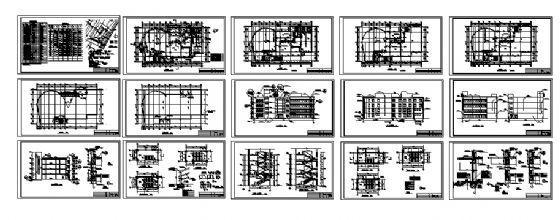 五层综合楼建筑施工图-4