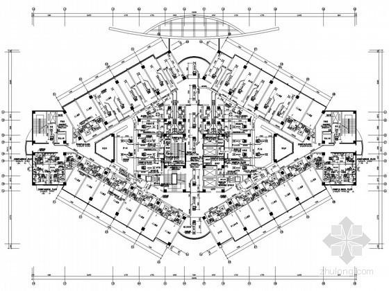 [山东]人民医院病房楼空调通风设计施工图