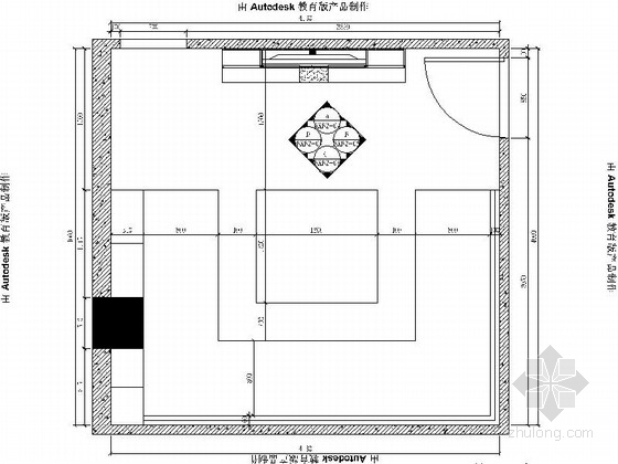 [厦门]高档时尚KTV包厢室内装修施工图