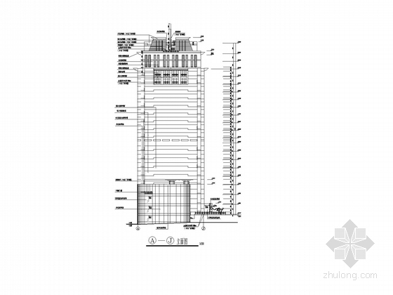 办公楼立面图