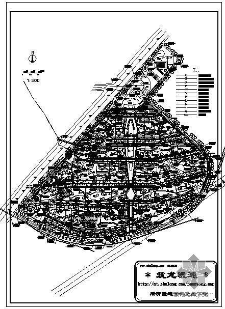 小区热力管网综合图