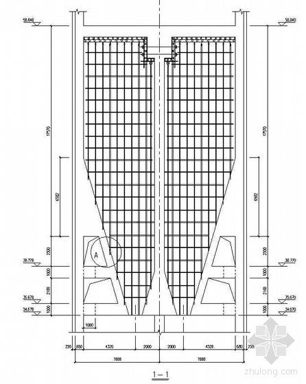 唐山某钢铁厂焦化工程煤塔高支模架施工方案(详图丰富)