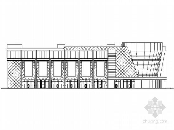 某四层大型综合商场建筑施工图