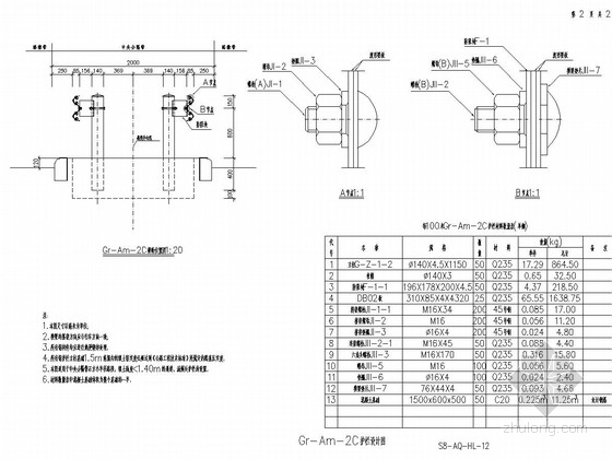 交通工程护栏设计通用图(新规范 60张)