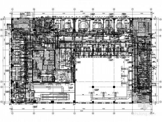 [辽宁]五星级酒店暖通空调设计平面图