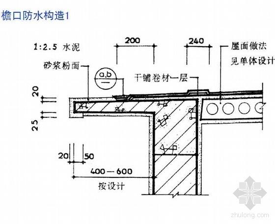 建筑工程施工质量监督讲座-屋面工程(ppt)