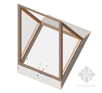玻璃天窗 ArchiCAD模型