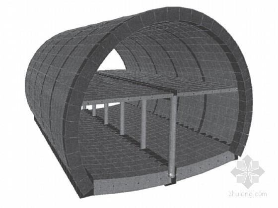 [硕士]新管幕工法修建地铁暗挖车站技术研究(63页)