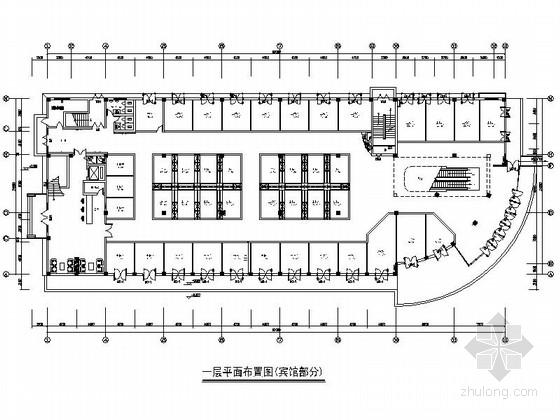 [浙江]某旅游胜地酒店客房室内装修施工图(含效果)