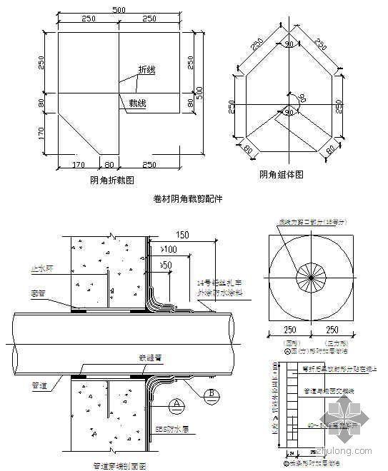 地下室外墙SBS改性沥青卷材防水施工技术交底(热熔法)