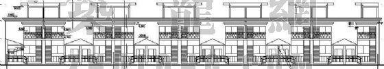 某连排别墅建筑施工图