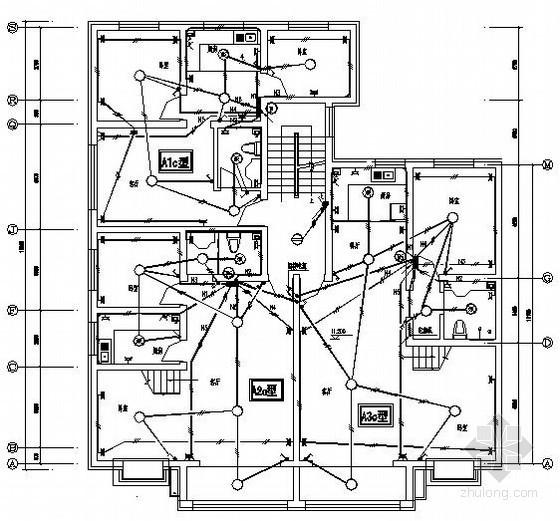 [新疆]某住宅楼全套电气施工图纸