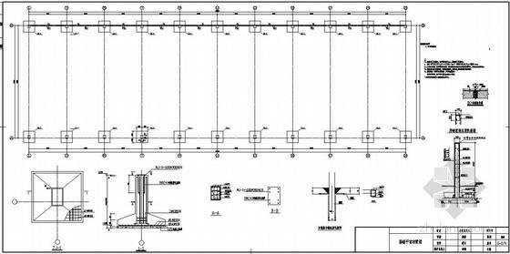 某煤场防尘环保技改工程结构设计图