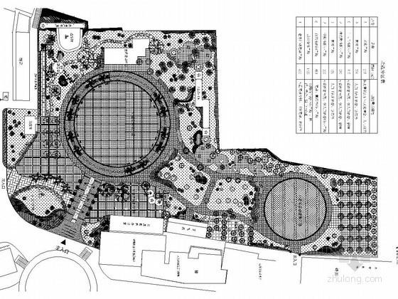 [攀枝花]公园绿化设计施工平面图