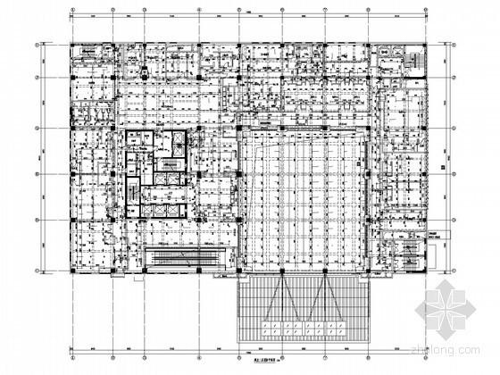 [河北]知名生活广场五星级连锁酒店给排水施工图纸(游泳池 循环水系统)