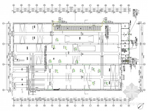 [云南]多层冷作厂房暖通热动系统设计施工图