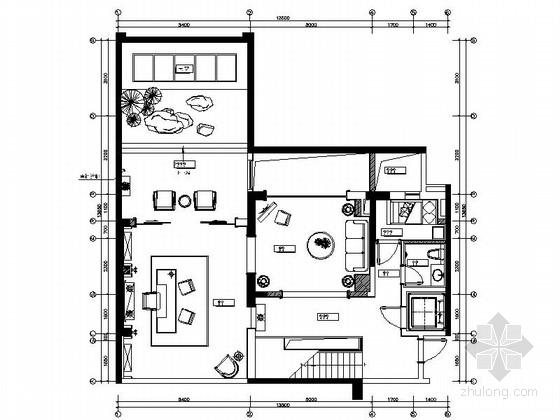 [上海]现代简欧跃层精装样板房装修图(含效果方案)