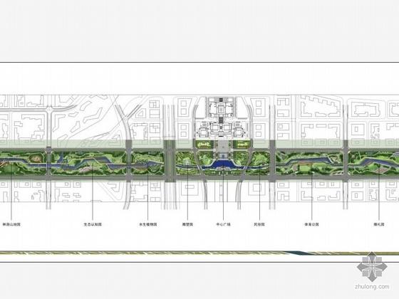 [芜湖]公园景观扩初设计