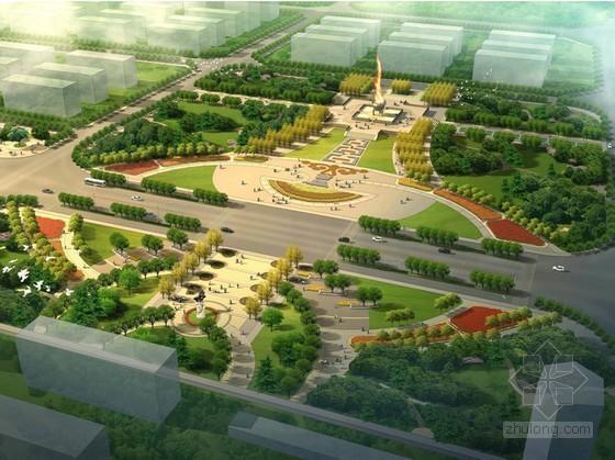 [呼和浩特]城市道路景观设计方案(全套)