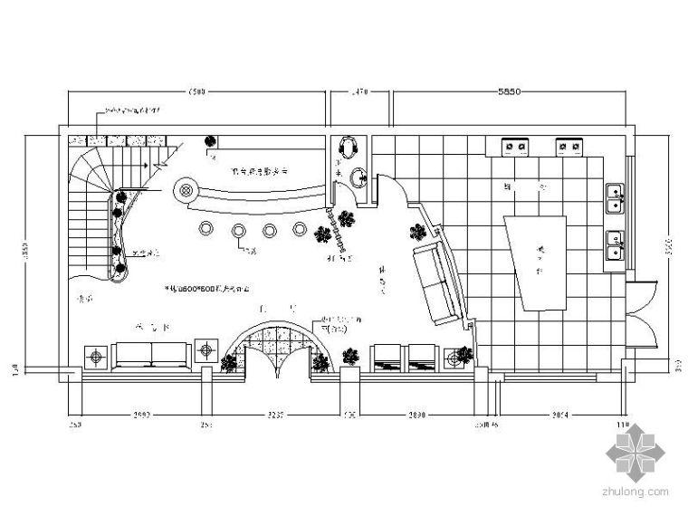 双层中式特色饭店装修图