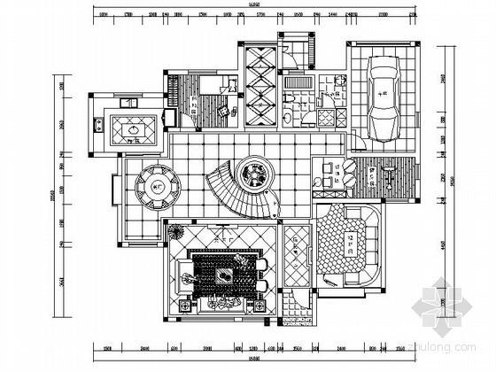 [南京]简欧双层别墅室内装修图
