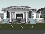 [北京]北京中式风格酒店建筑模型设计