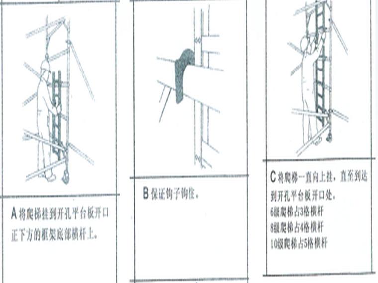 移动式脚手架操作说明5