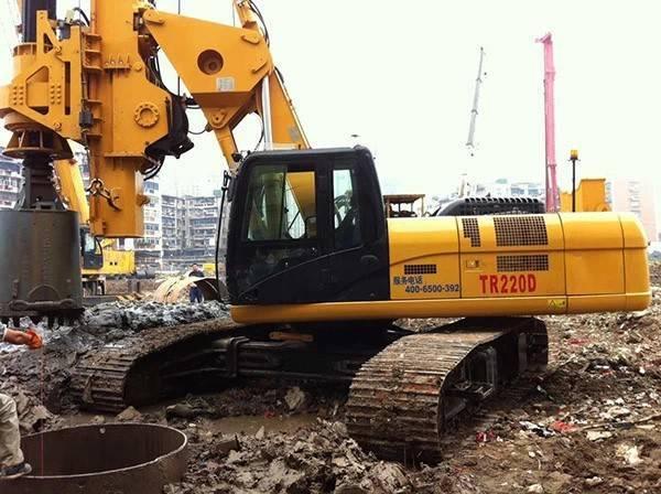 旋挖在溶洞地层施工方案