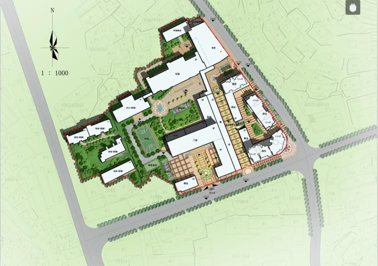 [湖南]高层现代风格常规项人民医院建筑设计方案文本(CAD+文本)_4