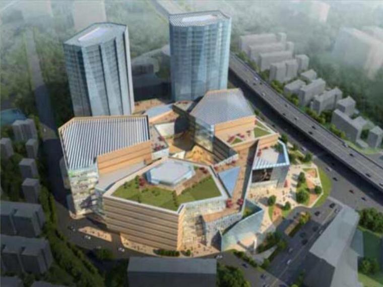 上海塔楼裙房项目地下室高大模板施工专项方案(105页)