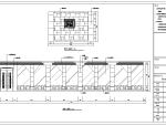 某欧式风格山庄餐厅室内装修设计施工图(25张)