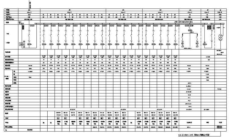 民政局、司法局综合办公楼电气初步设计图纸