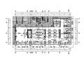 [天津]简约派精装办公空间室内设计施工图(含方案和效果图)