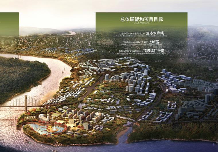 [重庆]主城两江四岸滨江地带北部新区城市规划设计方案文本