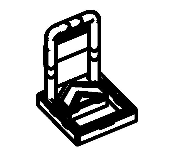 BIM族库-建筑-场地建模族-停车场(rfa,共24个)