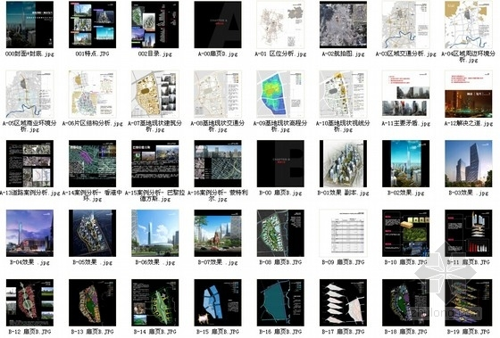 [贵州]绿色生态可持续性城市规划设计方案文本(国际知名设计院)-总缩略图
