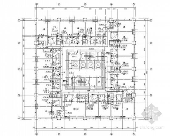 [内蒙古]8万平高层综合体塔楼给排水消防施工图(直饮水 冷凝水)