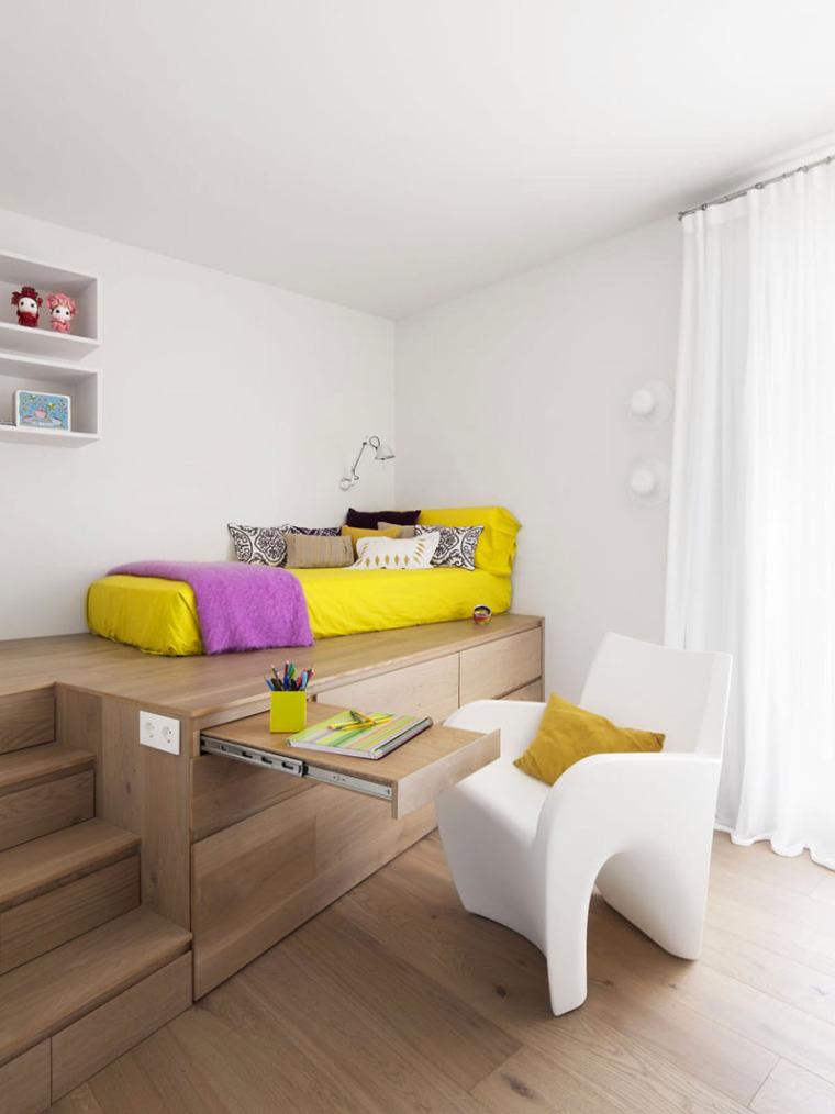 谁说青少年卧室最难设计?呶这里有14个例子_3