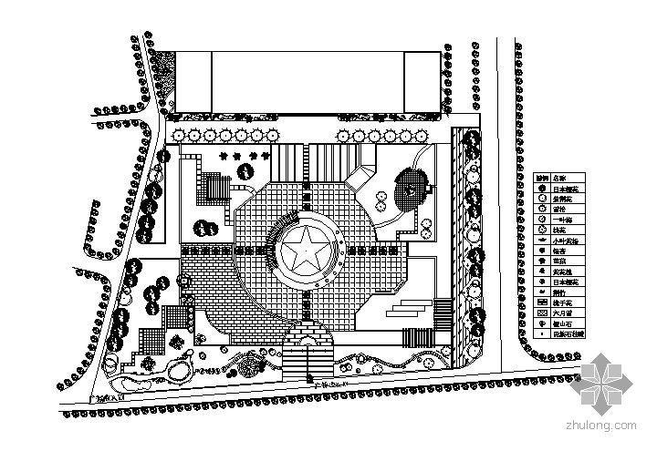 某校园小广场景观设计