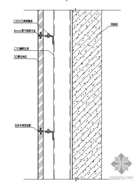 大连某裙楼幕墙工程施工组织设计(玻璃幕墙 石材幕墙 投标)