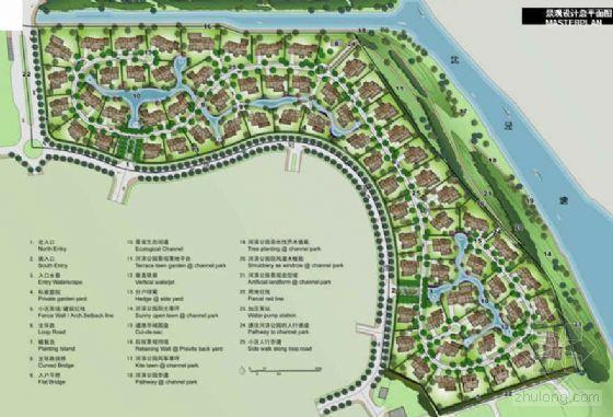 [上海]独立别墅区环境景观方案设计