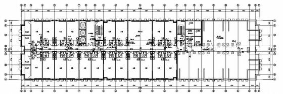 河南某30层酒店式公寓给排水施工图