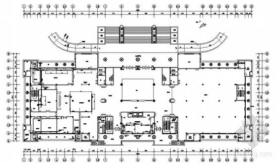 VRV系统办公平面图资料下载-某办公及展览厅VRV空调系统设计图