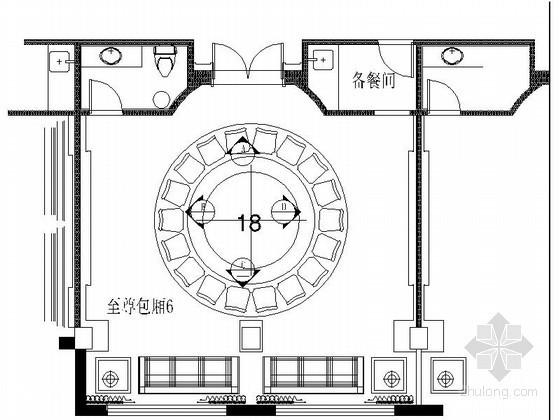 [上海]某奢华饭店包房6装修图(含效果)