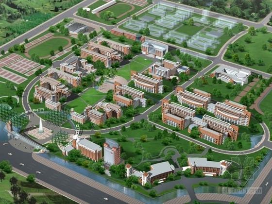 [杭州]某学院规划及建筑单体设计方案文本