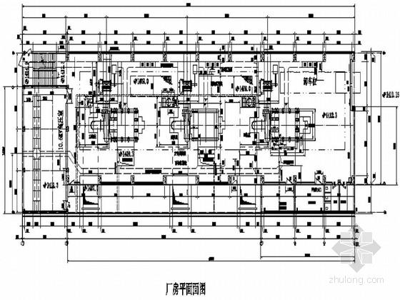 [云南]二级水电站厂房施工图(节点详细)