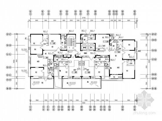 [河南]1.2万平米商业住宅给排水施工图