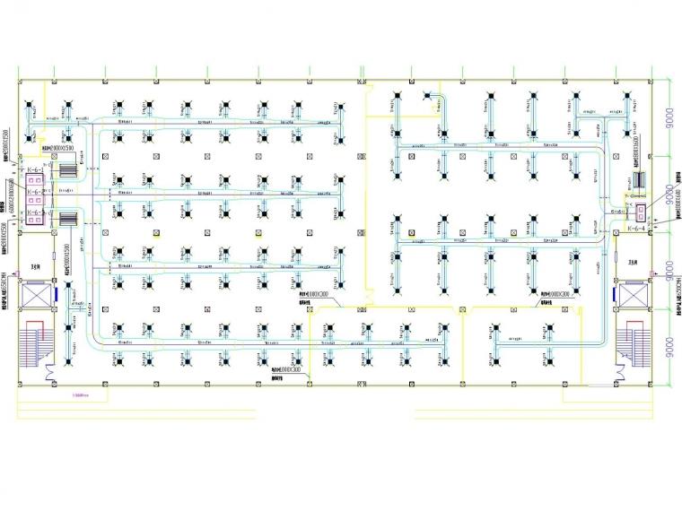 生产车间及办公室空调通风系统设计施工图