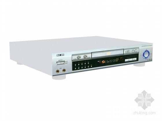 VCD播放器3D模型资料下载-家庭影像播放器3D模型下载